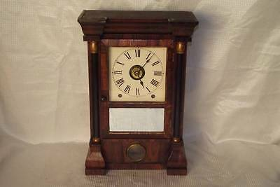 Early Seth Thomas 8 Day T, S and Alarm Mantle Clock ~Circa 1860's~