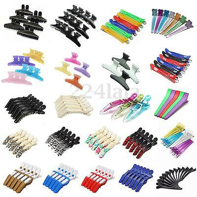 Hairdressing Hairdressers Butterfly Crocodile Salon Hair Claw Section Clip Clamp
