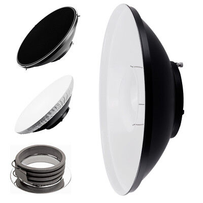 42cm Studio Beauty Dish with Honeycomb and Diffuser (White) – Profoto Fitting