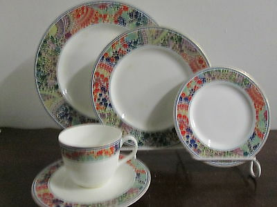 Hutschenreuther Benares fine German china 1-5pc. place setting new