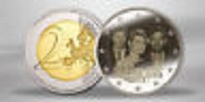LUXEMBOURG 2 Euros Mariage Royal 2012 Rouleau