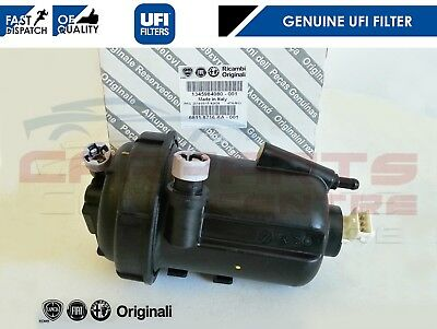 For Fiat Ducato 2.3 Jtd 2005-2007 Fuel Filter Housing 1345984080 New Genuine Ufi