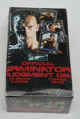 1991 OFFICIAL TERMINATOR T2 JUDGEMENT DAY FACTORY SEALED BOX