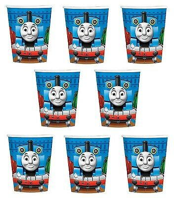 Lot of 8 Thomas the Tank Engine  9oz Paper Cups ~Party Favor Supplies~
