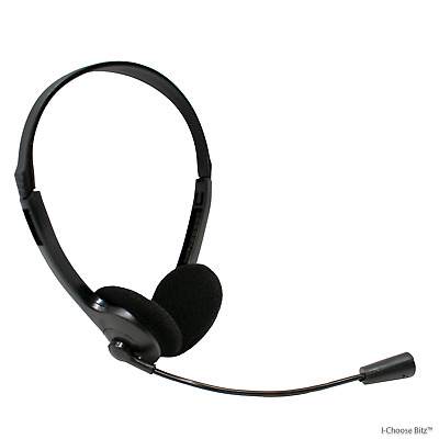 Stereo Headset with Microphone 3.5mm Over-head for Laptop PC Skype Computer N90