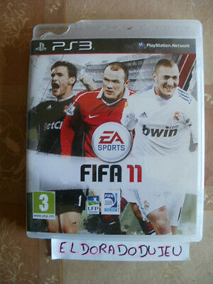 ELDORADODUJEU >>> FIFA 11 Pour PLAYSTATION 3 PS3 VF COMPLET CD PROCHE DU NEUF