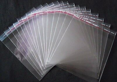 Sealable OPP Clear Poly Bag Cellophane 15cm x 15cm - UK Stock - High Quality