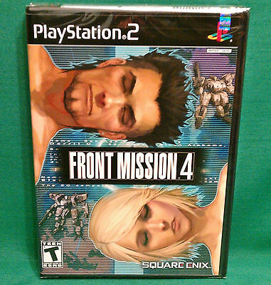 Front Mission 4 (Sony PlayStation 2, PS2 2004) *Factory Sealed* NTSC Square Enix
