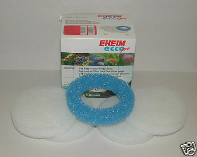 EHEIM 2616320 ECCO PRO FOAM PADS. Pack of 5. aquarium. 130, 200, 300