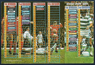 Shoot!-Football League Ladders-1974-Leicester