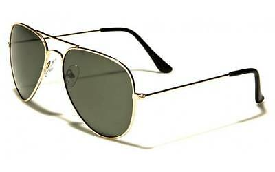 New Classic Aviator POLARIZED Sunglasses (Includes FREE Soft Pouch) AF101PZ