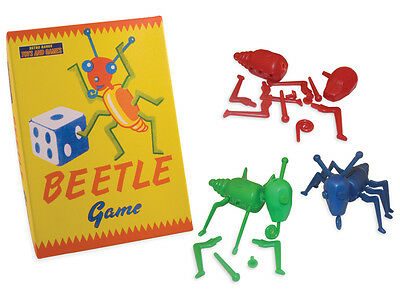 Vintage Style Build A Beetle Game Family Fun Great Gift