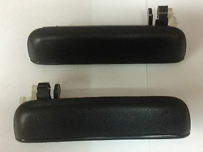 Toyota Tercel 95-99 Door Handle Outer Outside Exterio Front LH and RH Pair Set