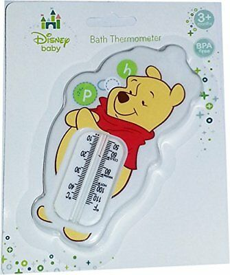 Winnie The Pooh Baby Bath Thermometer Water Temperature Safety Bath Time WHITE