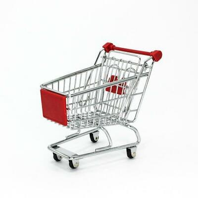 Mini Shopping Trolley Desktop Stationery Holder