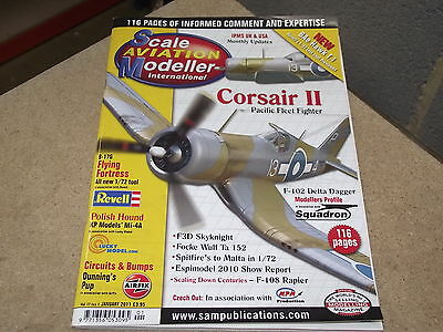 Scale Aviation Modeller 2011 Jan - Revell B-17G, F-102 Delta Dagger