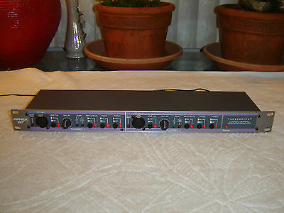 Aphex 107, Dual Channel Tube Preamp, Vintage Rack, As Is, Repair