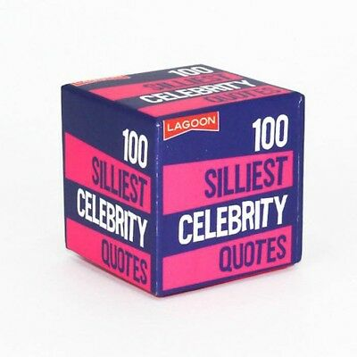 Little Boxes Of Random Fun | 100 Silliest Celebrity Quotes