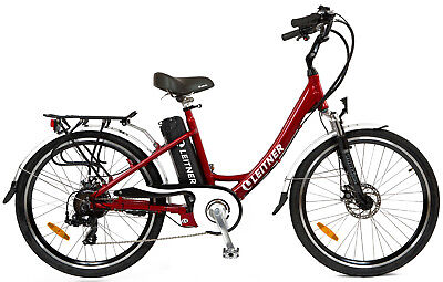 NEW Leitner Electric Bike Ebike Bicycle Step Through 250w 36V 10Ah Lithium