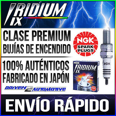 1 x NGK IRIDIUM IX CR8EIX Bujías UPGRADE FOR C8E,CR8E,CR8EB,CR8EK,CR8EVX