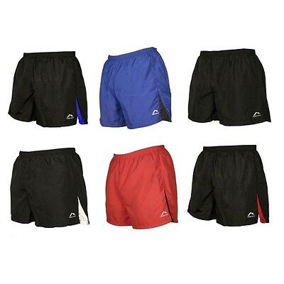 More Mile Mens Sports Shorts Running Football Gym Fitness Exercise - XS S M L XL