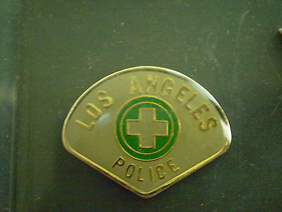 LOS ANGELES MEDICAL  POLICE  PATCH  MINI-BADGE / LAPEL PIN