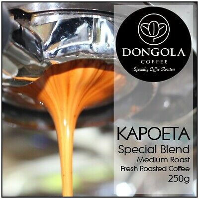 250g DONGOLA KAPOETA Fresh Roasted Coffee Beans Special Blend Whole Bean Ground • AUD 10.95