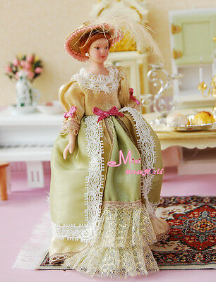 Doll LACE Classical Victoria Lady Girl 1:12 Dollhouse Miniature