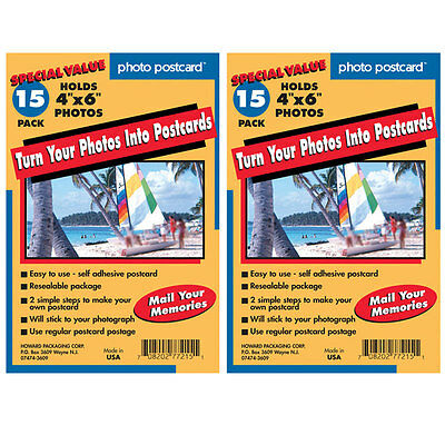 """Freez A Frame Photo Postcards Self Adhesive 4"""" x 6"""" Pack of 30"""