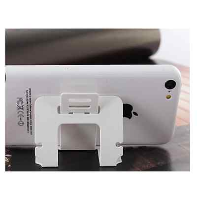 2 in 1 Credit Card Sized Foldable Mobile Stand Cable Winder Phone Holder Kick