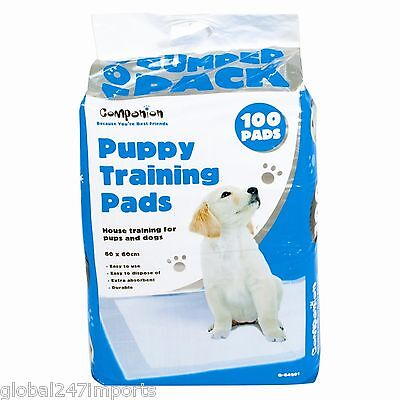 Large Puppy Training Pads Wee Pee Toilet 60 X 60 Cm Free Post