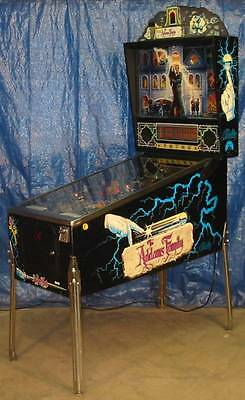 ADDAMS FAMILY PINBALL by GOTTLIEB.  CLEAN, SHOPPED, NICE.