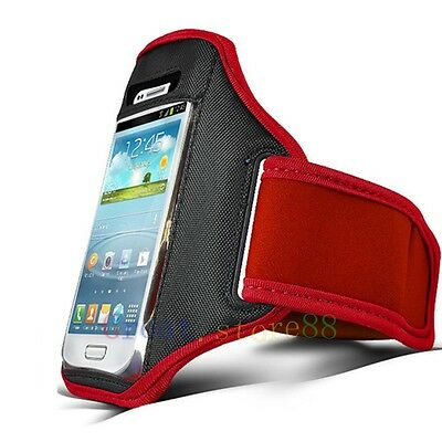 Red Running Sport Armband GYM Skin Case Cover FOR Apple iphone ipod itouch AU