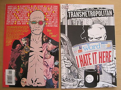 "TRANSMETROPOLITAN ""I HATE IT HERE"" SQ BND ONE-SHOT by WARREN ELLIS. VERTIGO.2000"