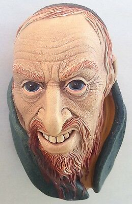 Fagin 1964  Bossons England Chalkware Head