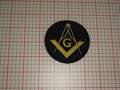 Freemasonary Square and Compass Patch (Style 1) (T2-133)
