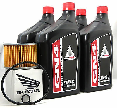 1986 Honda Gl1200A/i Gold Wing Aspencade/gold Wing Interstate Oil Change Kit