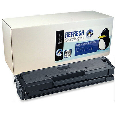 Refresh Cartridges Black Mlt-D111S/els Toner Compatible With Samsung Printers