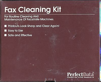 Fax Cleaning Kit by Perfect Data - Brand New Unopened Box
