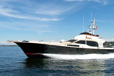 52' Midnight Lace (Tom Fexas' first design) Diesel power yacht