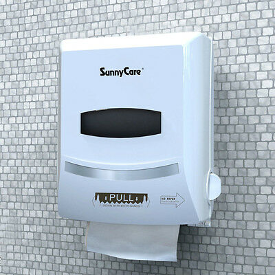 SunnyCare #8588W Paper Hand Roll Towels Dispenser High quality ABS Plastics NEW