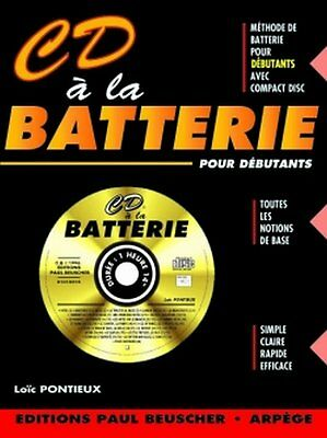 CD à la batterie - Loïc Pontieux - CD Inclus