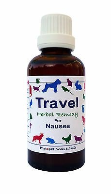 Phytopet Travel,herbal remedy to relieve travel sickness dog, cat,pets 30/100ml