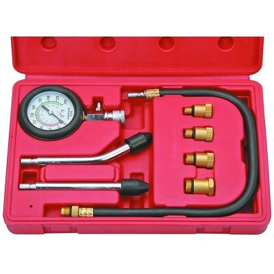 Spark Plug Cylinder Compression Tester Test Kit Professional Mechanic Gas Engine