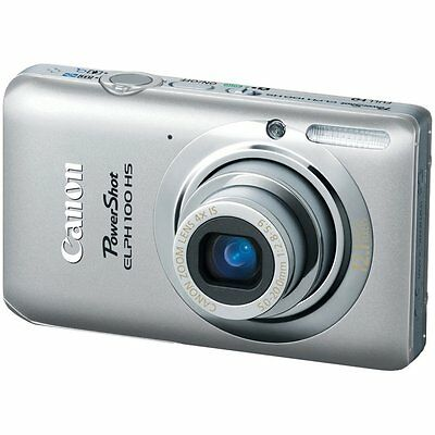 Canon PowerShot ELPH 100 HS / IXUS 115 HS 12.1 MP Digital Camera - Silver