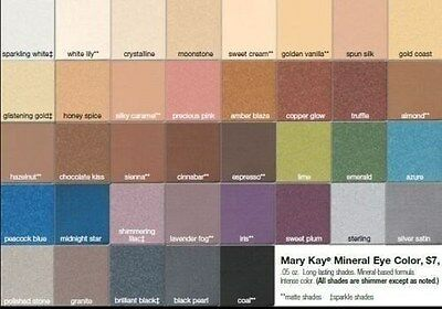 1 Mary Kay Mineral Eye Color Shadow Choose Hazelnut Vintage Gold + More Choices