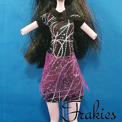 Monster High ABBEY BOMINABLE New Home Ick DRESS Outfit Doll Accessory 1/6 SCALE