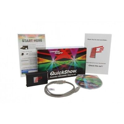 Pangolin QuickShow 3.0 - laser show software Including FREE BLACK 10M ILDA cable