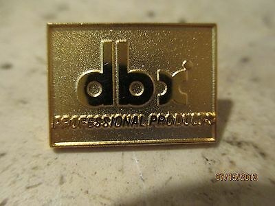 Vintage DBX pro audio pin - Gold Colored dbx Pin from NAMM show 1990's RARE