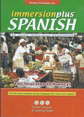 Spanish - The Final Step to Fluency - 3 CD - 3 Hours & Listening Guide !